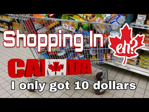 Grocery shopping in Canada is it cheap?