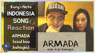 "Video Reaksi orang Korea mendengar Lagu ""Asal Kau Bahagia (ARMADA)"" download MP3, 3GP, MP4, WEBM, AVI, FLV Juni 2018"