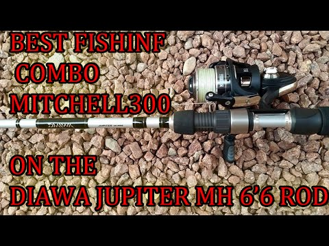 BEST SPINNING REEL/ROD COMBO FOR BASS AND STRIPER FISHING
