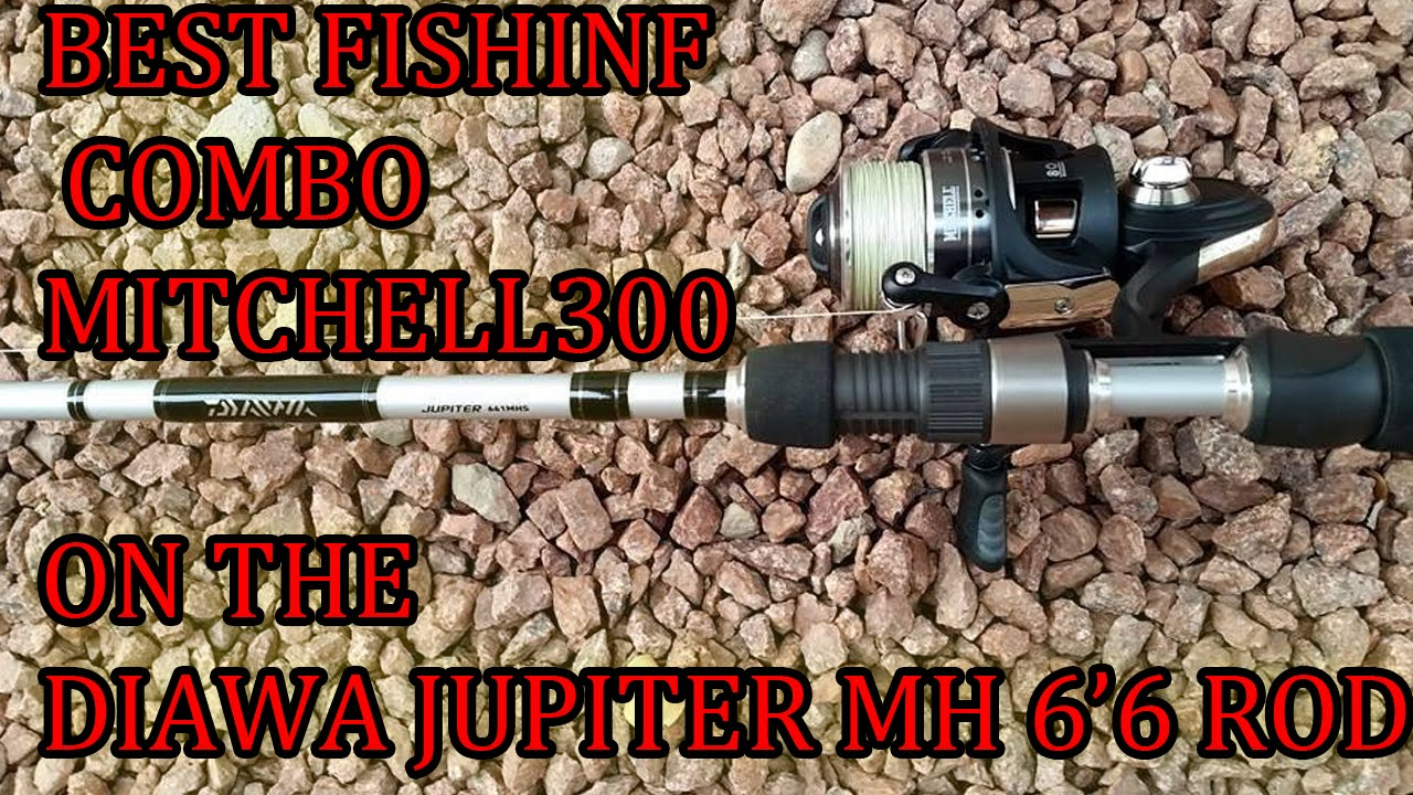 e235f5bf70d BEST SPINNING REEL/ROD COMBO FOR BASS AND STRIPER FISHING - YouTube