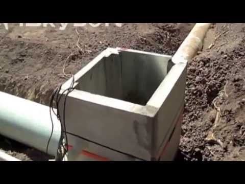 Irrigation Ditch Distribution Box - Diversion Box