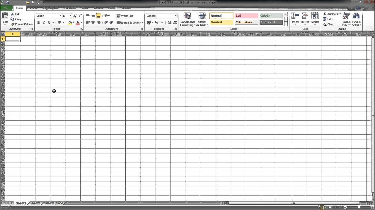 Free Bookkeeping Template - YouTube