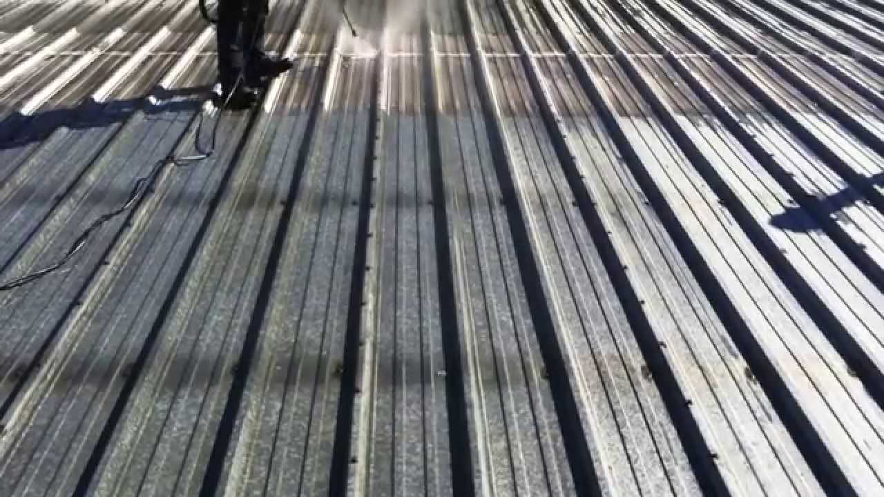 General Roofing Systems Canada (GRS)   Metal Roof Coating Preparation