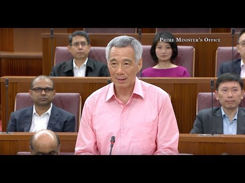 PM Lee Hsien Loong's Speech at the Debate on the President's Address 2018