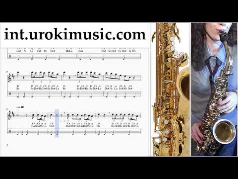 Saxophone lessons (Tenor) Jonas Brothers - Cool - Cool Sheet Music Tutorial um-i-n352 thumbnail