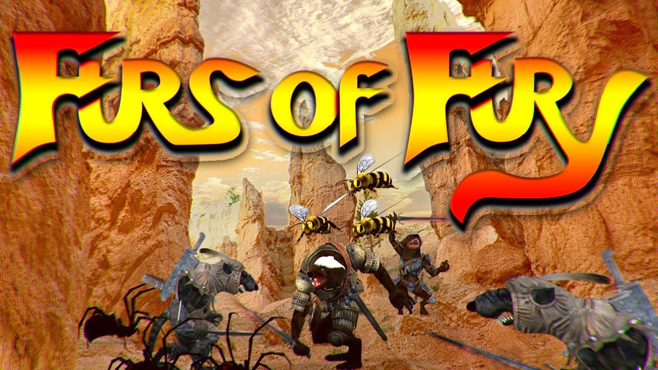 Longplay a Indie | Furs of Fury (2021) a Indie MOBA build on Chromium Engine with a rough design