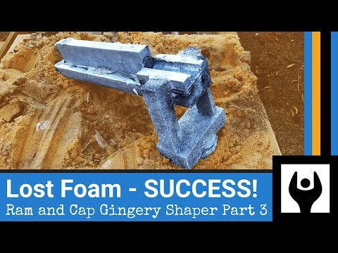 Stunning Triumph - Casting the Ram for the Gingery Shaper - Part 3