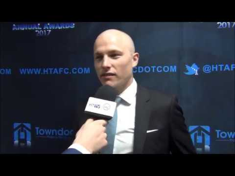 INTERVIEW: Aaron Mooy on winning Huddersfield Town's 2016/17 Player of the Season award