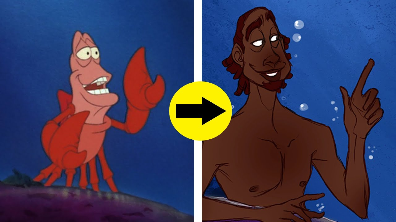 If Disney Animals Were Human - YouTube