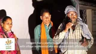 Participatory video: Screening & discussion at Udaipur block