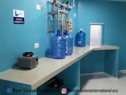 PLANTA ENVASADORA DE AGUA - WATER SOLUTIONS