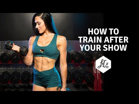 How to train after your bikini show