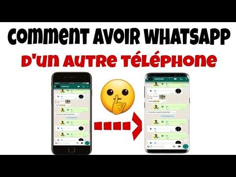 Comment avoir les messages WhatsApp  d'un autre téléphone - très facile
