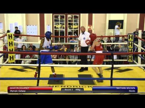 Haringey Box Cup QF - Martin Delaney v. Nathan Brown