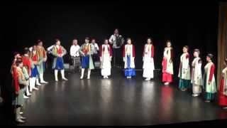 "Folklorni Ansambl ""Crna Gora"" - Igre iz stare Crne Gore / Dances of Old Montenegro ®"