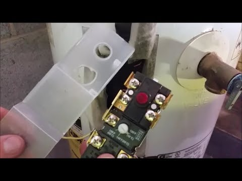 How To Replace Your Electric Water Heater Thermostats Youtube