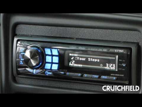 The Alpine CDA-9887's IMPRINT™ Sound Tuning Capability | Crutchfield Video