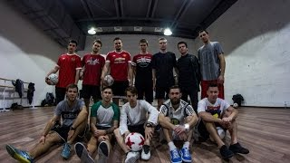 Freestyle Football Session 12/11/2016   Футбольный фристайл