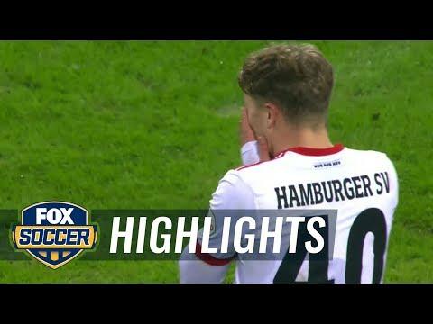 Hamburger SV vs. Eintracht Frankfurt | 2017-18 Bundesliga Highlights