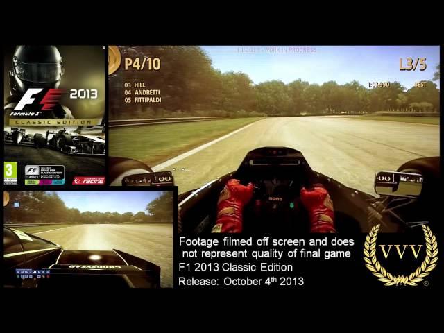 Gamescom: F1 2013 part 1