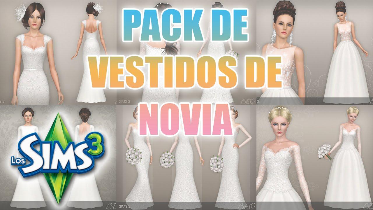 sims 3 vestidos de novia