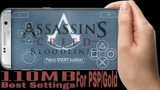 110MB || Assassins Creed Bloodlines Highly Compressed For PSP || Best Settings || Gameplay Proof ||