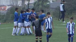 futebol sub 15 feirense fc porto 2 1 cnjc srie b 9 ª jornada 23 10 16