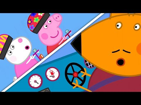 Видео: Свинка Пеппа на русском все серии подряд | Фургончик Мистера Лиса | Мультики