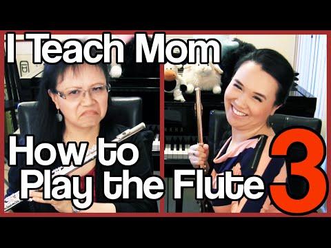 I Teach Mom How to Play the Flute 3