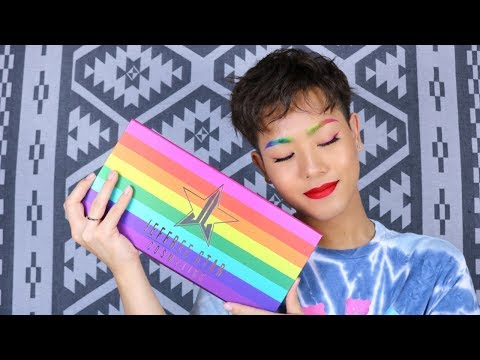 【Beautylish × Jefree Star Cosmetics】Rainbow Eyebrow Tutorial【Pride Month