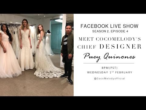 CocoMelody Chief Designer - Puey's 20th Facebook Live Show!