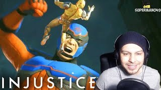 THEY ARE ACTUALLY DOING IT... - Injustice 2 Atom Gameplay REACTION