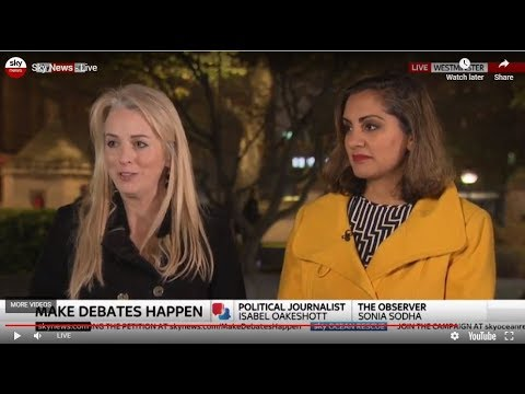 Sky News Press Preview 15 November 2018 with Sonia Sodha Part 1