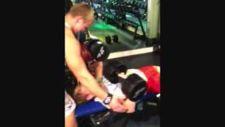 dumbbell workout with 42kg (Janis Berzins Fitness)