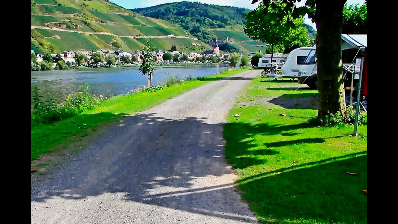 campingpark zell mosel rheinland pfalz september 2015 youtube. Black Bedroom Furniture Sets. Home Design Ideas