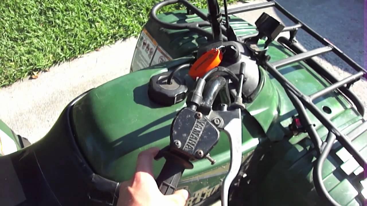 Yamaha Bear Tracker Carburetor