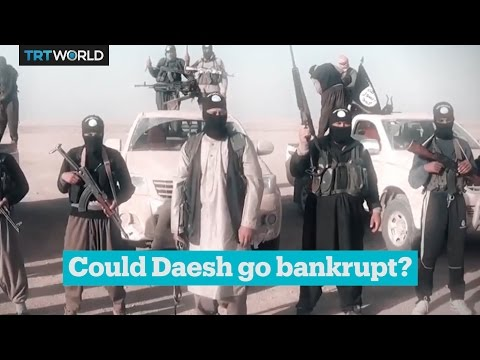 Daesh revenues are going down