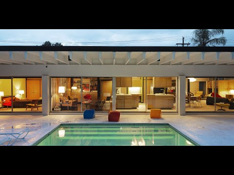 Dwell Home Tours: Street Art and Space Age Furniture Collide at a Painter's Midcentury Home