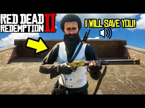 THIS KID SAVED ME FROM GRIEFERS in Red Dead Redemption 2! thumbnail