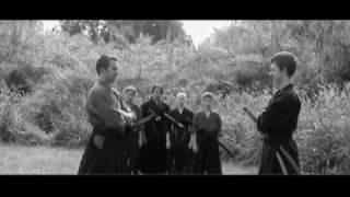 Sanjuro   Two unsheathed swords (remake)