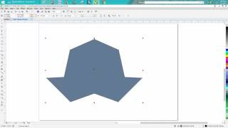 Corel Draw Tips & Tricks Nodes close two nodes on two paths
