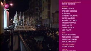 Jueves Santo en directo   Semana Santa de Málaga 2018   101 Televisión