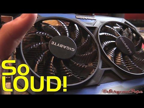 Gigabyte GTX 960 running at 100% fan speed randomly - BROKEN