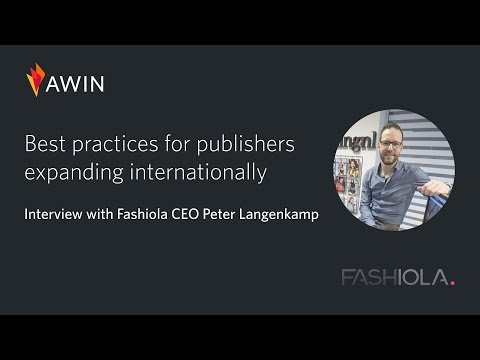 Best Practices for Publishers Expanding Internationally