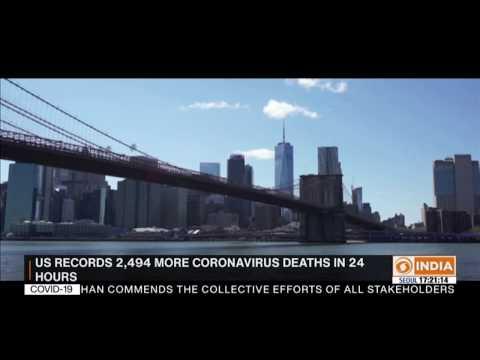 New York begins coronavirus antibody testing