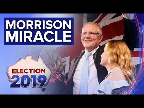 "Prime Minister Celebrates ""miracle"" Win | Nine News Australia"