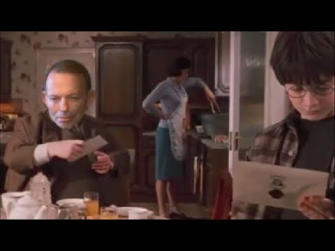 Tony Abbott features in Harry Potter parody about same-sex marriage postal survey