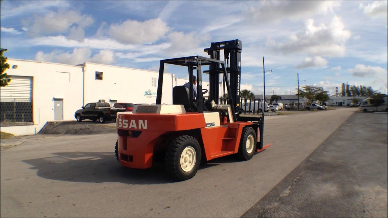 15500LB Pound Forklift Nissan DF05A70V Used And Fully Reconditioned