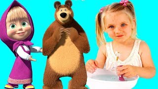 Кукла Маша  Маша и Медведь. Видео для детей