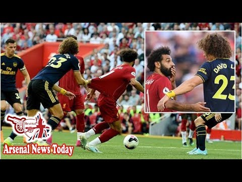 Arsenal Star David Luiz Reveals What Liverpool's Mohamed Salah Told Him After Penalty- News Today